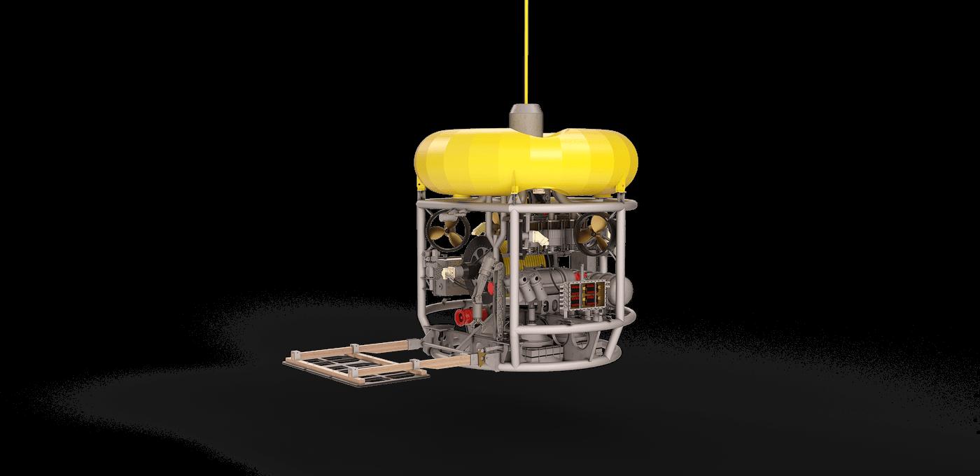 ROHP II multi-purpose inspection ROV