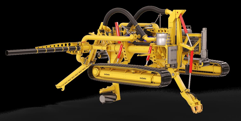 Arhtropod subsea pipeline trencher