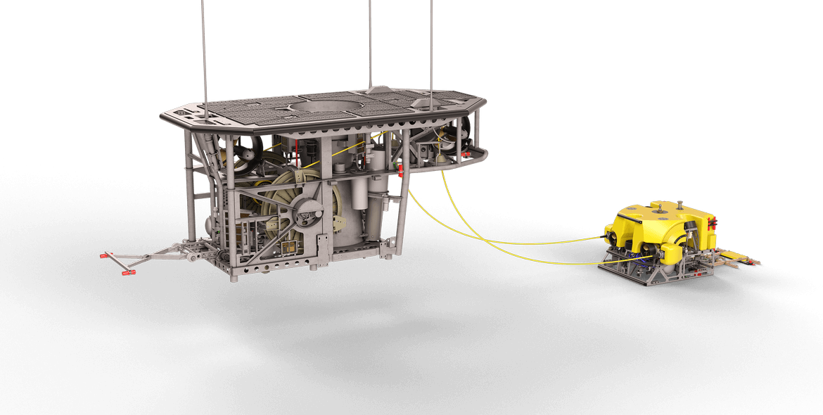 Rockpiper remotely operated vehicle ROV