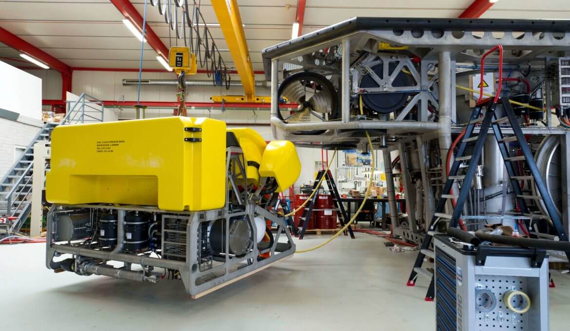 Survey ROV allows to perform direct post survey operations