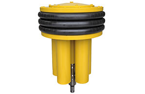Subsea pressure compensator with a MTTF of more than 20 years.
