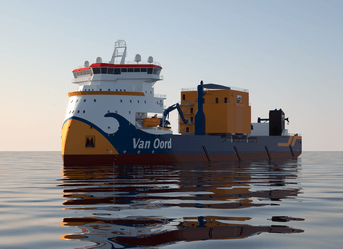 Custom-made ROV for van Oord
