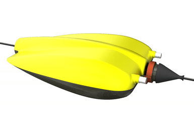 Autonomous cable touch down monitor AUV