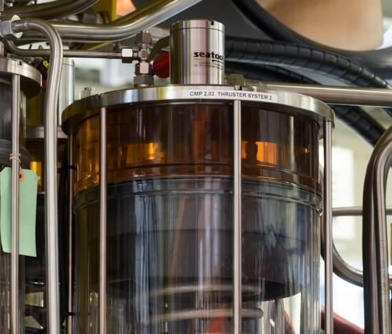 Biodegradeble oil in ROV hydraulic system