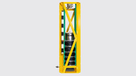 Custom subsea compensators and reservoirs