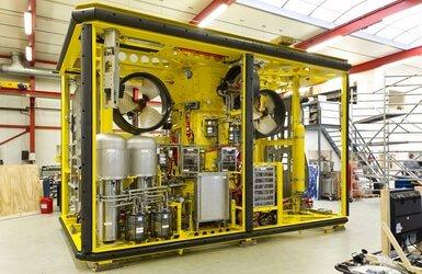 Flintstone fall pipe ROV subsea hydraulic system