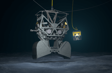 GES - Grab ROV with pressure balanced oil filled hydraulic system