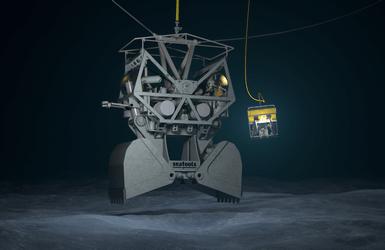 GES deep water dredging technology