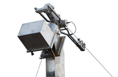 HighWire position reference system for sewage outfalls