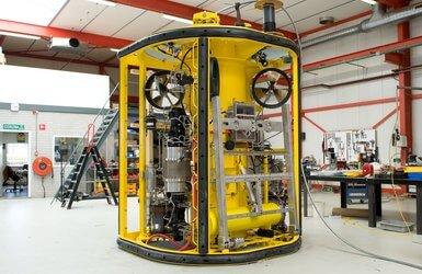 La Boudeuse subsea hydraulic power unit.