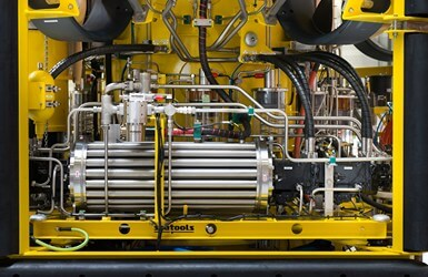 ROV 7 subsea hydraulic power unit