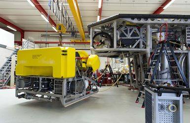 ROV hydraulics Rockpiper