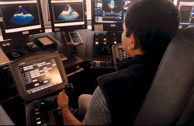 Rockpiper FPROV - ROV control system simulations and offshore on board simulator