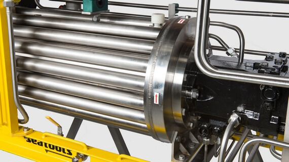 Standardized subsea hydraulic power packs