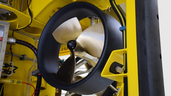 Subsea hydraulic thrusters