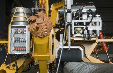 Subsea trencher hydraulic system of Arthropod