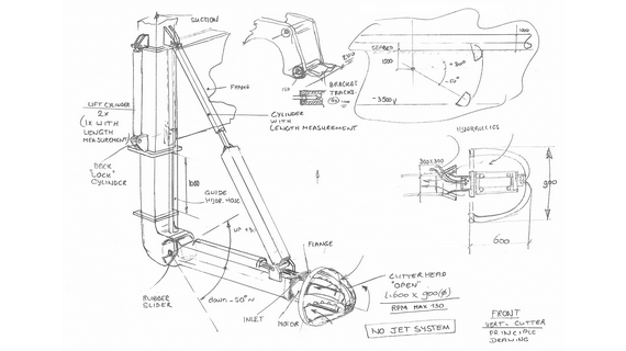 Subsea trenching conceptual design