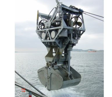 Recovery of GES deep sea dredging system
