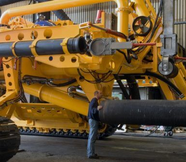 Arthropod for subsea pipeline protection