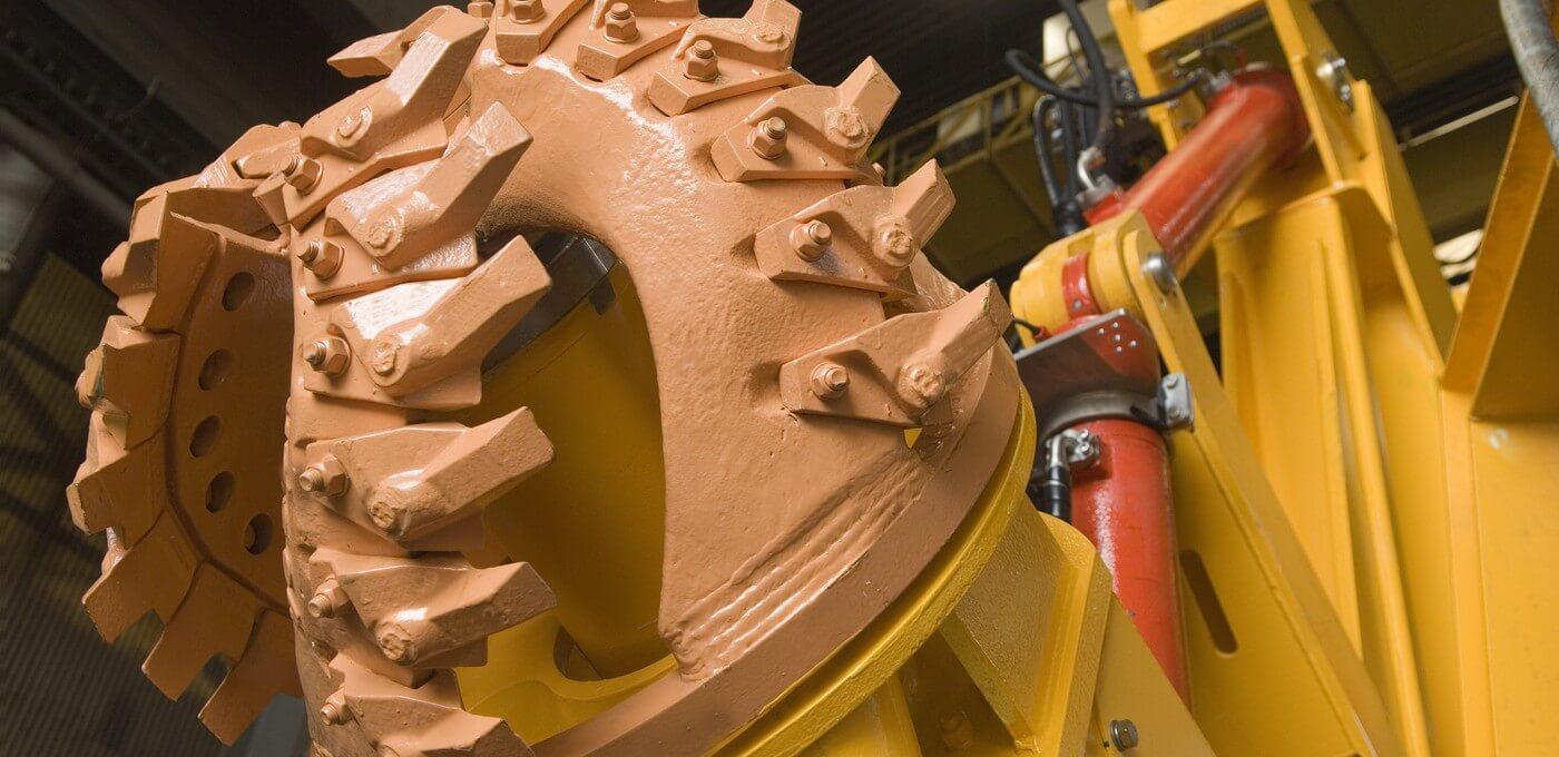 Arthropod subsea pipeline trencher cutter head