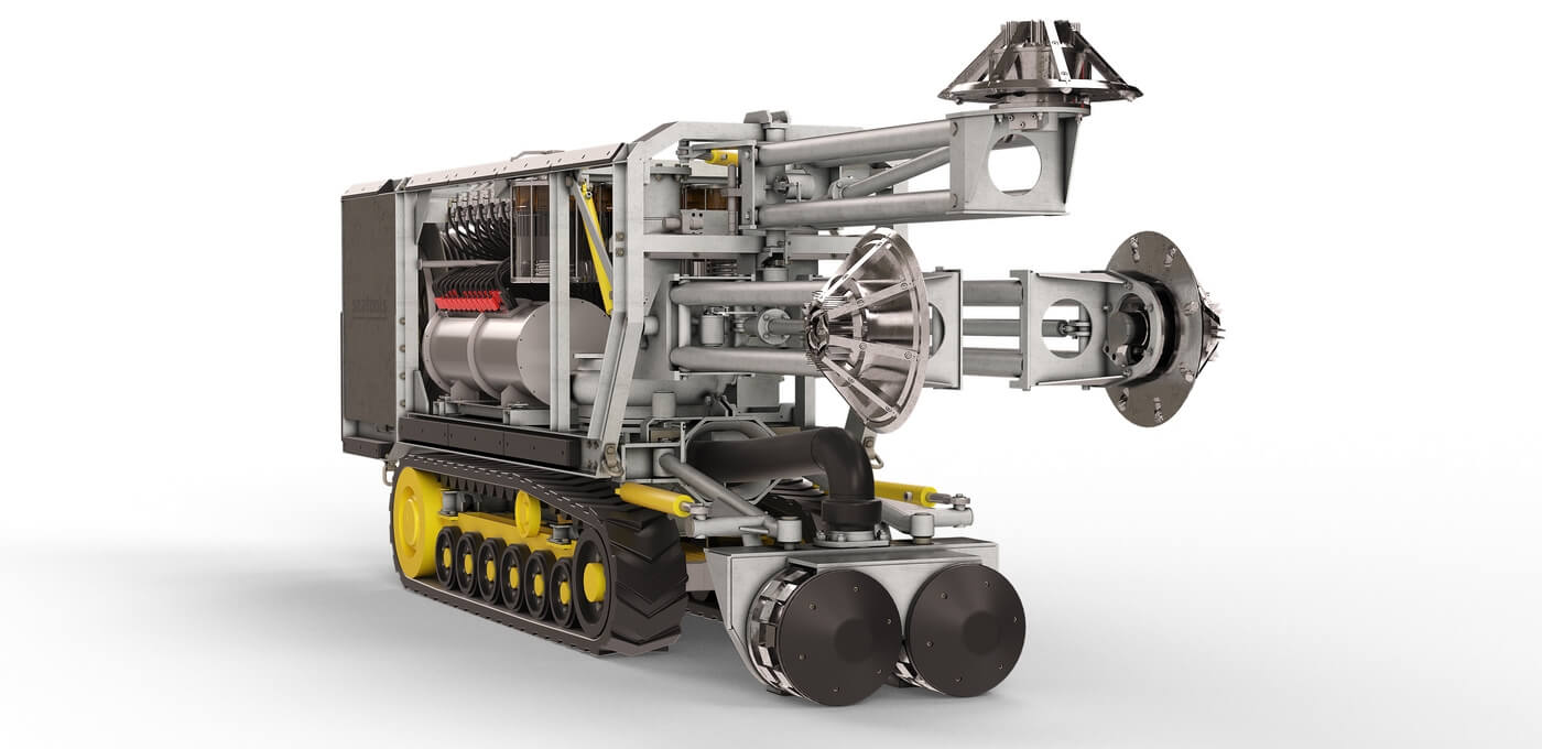 ROCM - Underwater cleaning machine for marine growth removal