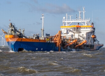 Dredging monitoring and control
