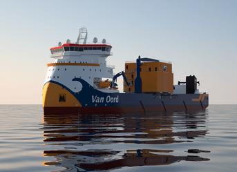 Custom-made ROV for van Oord