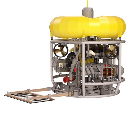 Bespoke AUV and ROV systems for commercial, scientific and military purposes