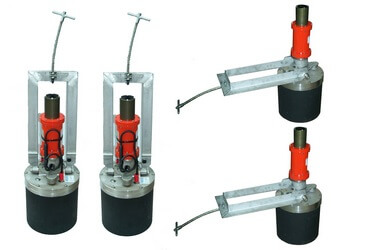 Compliant tower leveling system