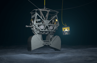 Grab ROV with high level of ROV automation