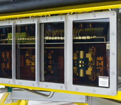Pressure Balanced Oil Filled (PBOF) enclosure for ROV application