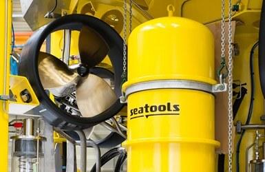 ROV 7 - fall pipe ROV system