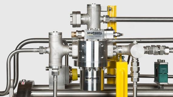 ROV hydraulic filters