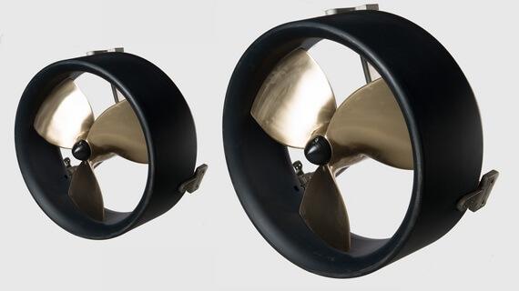 ROV hydraulic thrusters for ROV propulsion