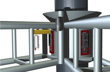 Pile sensor unit for effective offshore piling operations