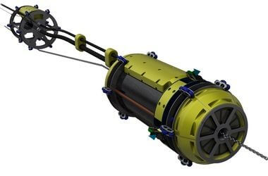 Seatools Concept Sea water intake subsea cleaning machine