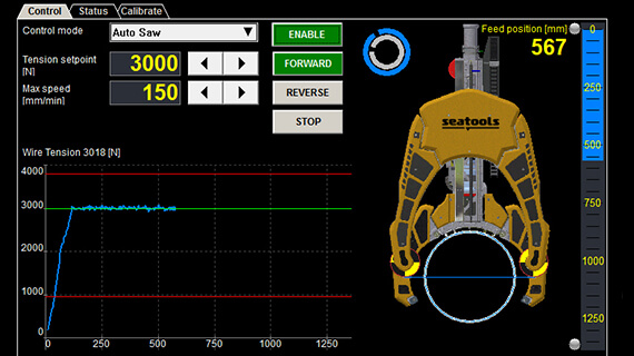 Torque Monitoring System : Subsea monitoring controls full insight control