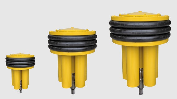 Ultralong lifetime subsea compensators for subsea control modules