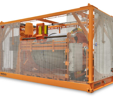 Umbilical CT winch van Oord 2020