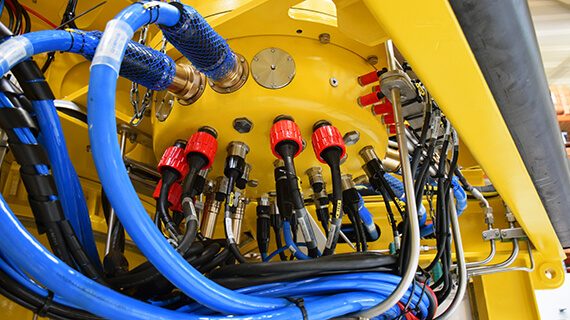 subsea power and data transmission
