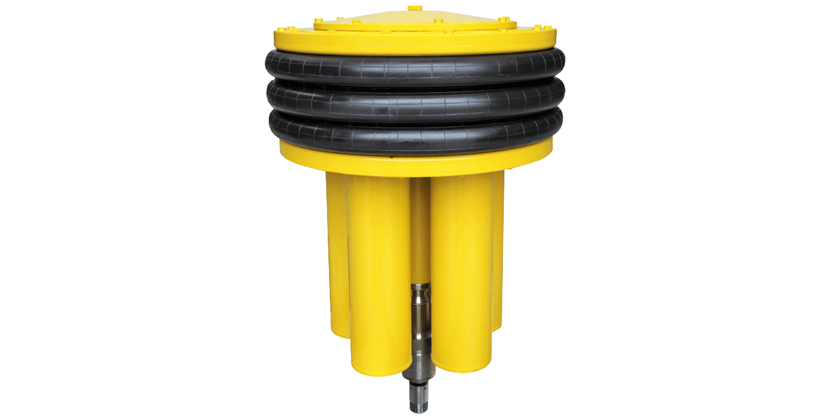 Ultralong life subsea pressure compensator