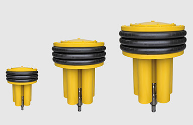 Ultralong lifetime subsea compensators