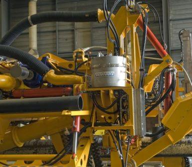 Heavy duty subsea pressure compensator on Arthropod trencher