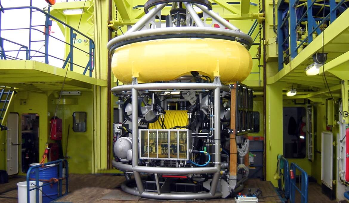 ROHP II Multi-purpose inspection ROV
