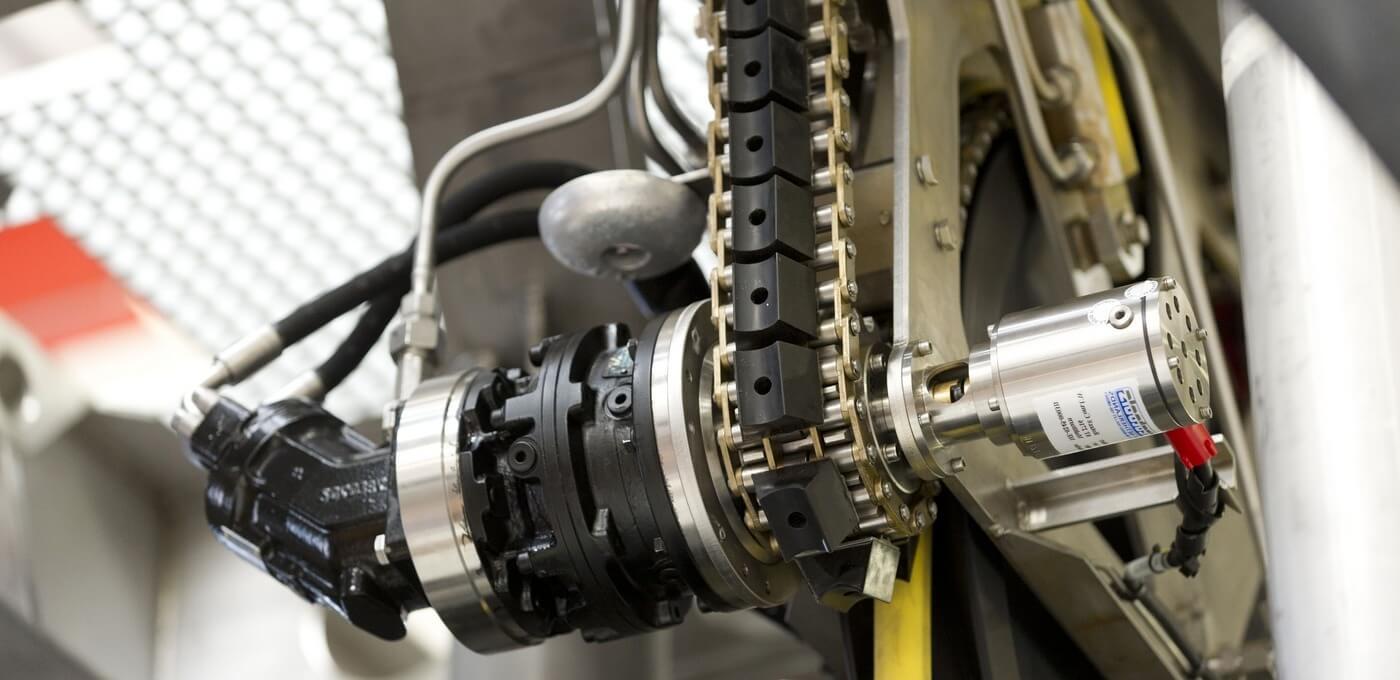 Rotax® underwater angular position sensor