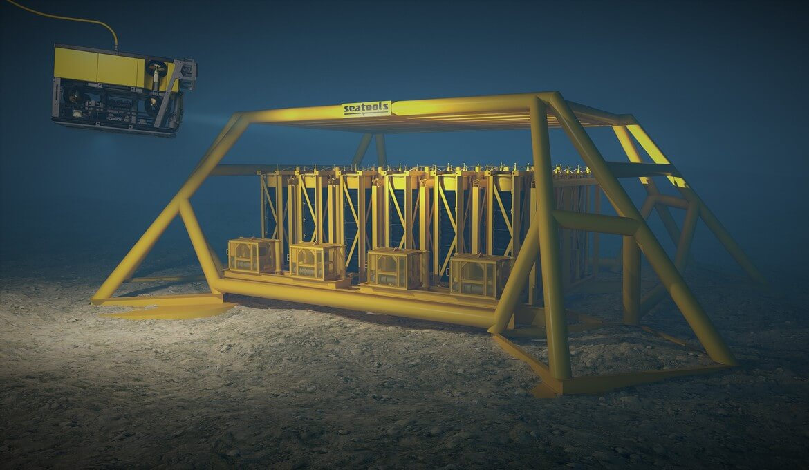 Seatools subsea storage technology