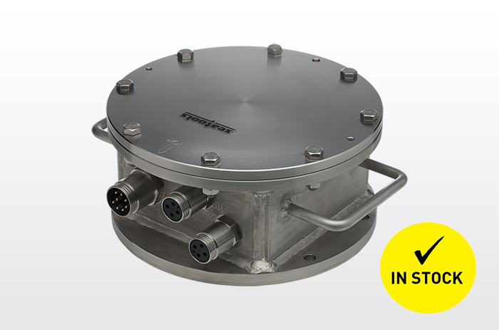 Sinclino 200 junction box angle inclination subsea measurement