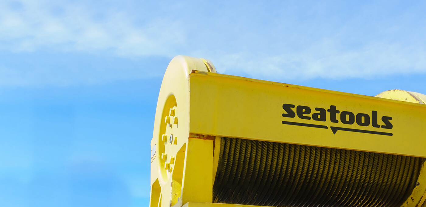 Active heave compensated winch Seatools