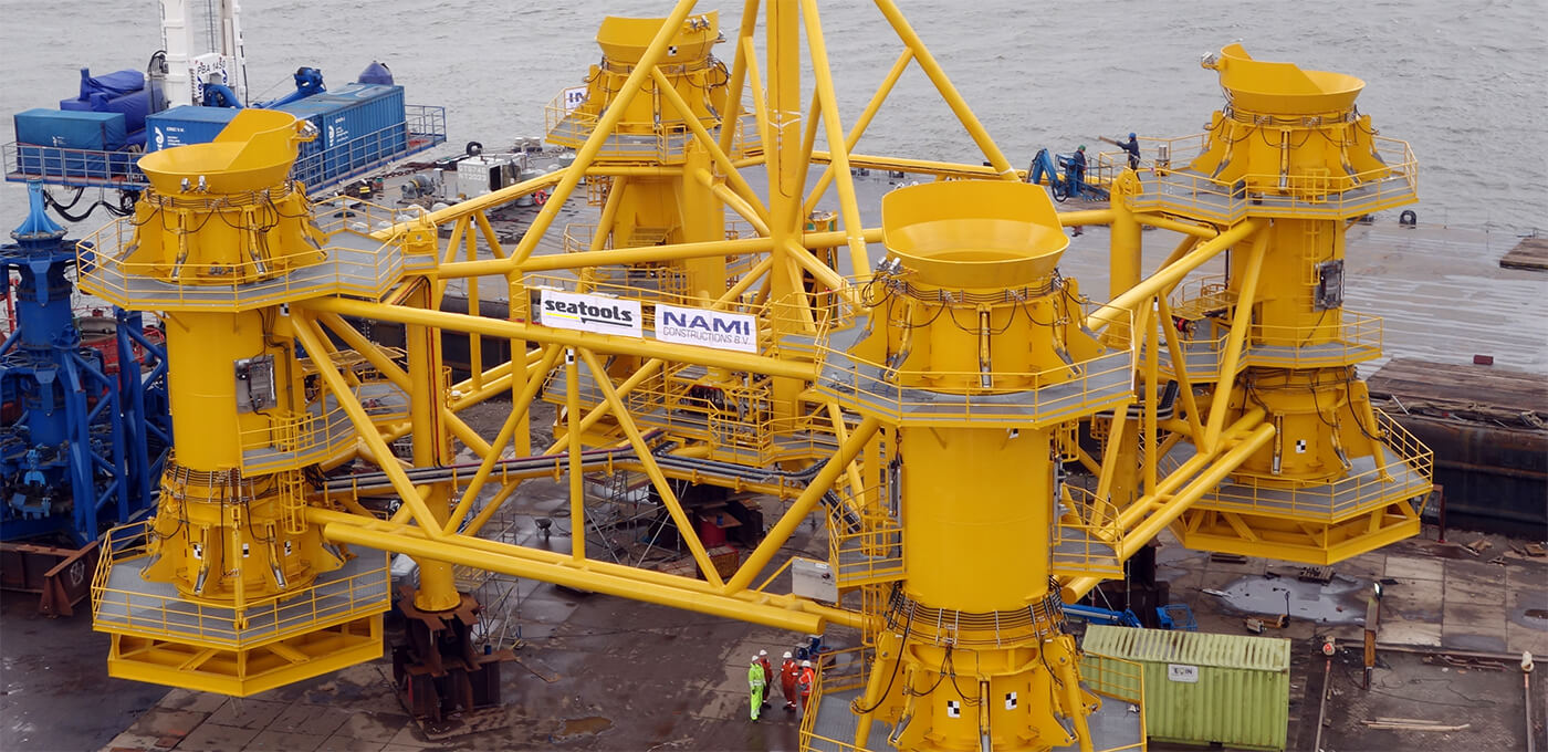 Pre Piling Template For Efficient And Accurate Offshore