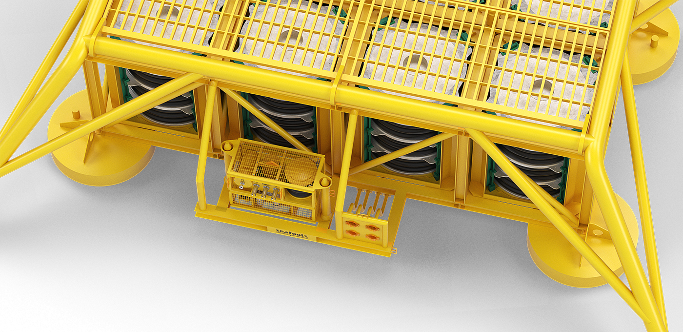 Seatools Subsea Chemical Storage System for Subsea factory